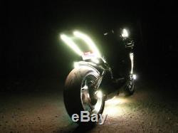 18 Changement De Couleur Led Ninja Zx6r Moto 16pc Motorcycle Led Neon Light Kit