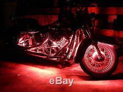 18 Changement De Couleur Led Street Glide Motorcycle 24pc Motorcycle Led Neon Light Kit