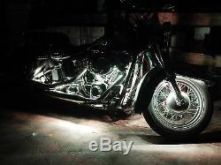 18 Changer La Couleur Led Goldwing 1500 Moto 16pc Moto Led Neon Light Kit