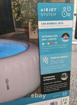 2021 Lay Z Spa Paris 4-6 Personne Hot Tub Freeze Shield Led Lights