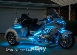 243 Led Trike Under Glow Kit, Changement De Couleur Rvb, Avec Télécommande