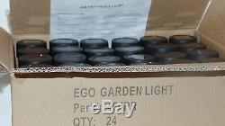 24 La Couleur Changeante De Jardin Solaire Extérieur A Mené La Couleur Noire Grande De Lampe Od 62mm