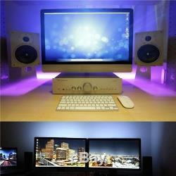 2m Led Usb Rgb Color Changing Bande Ambiante Mood Light Tv Avec Télécommande Rétro-éclairage