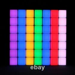 2x Ledj Mood Bar Retro Light Box Effet Couleur Changeant Led Panneau Disco Lighting
