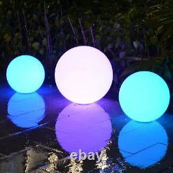30cm Led Orb Waterproof Floating Ball Mood Lighting Pool Event Par Pk Green