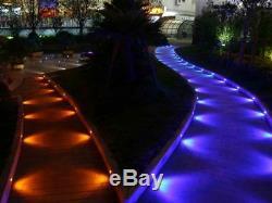 30pcs 30mm 12v Ip67 Couleur Rvb Lumières Changeantes De Pont Led Cuisine / Eclairage De Jardin