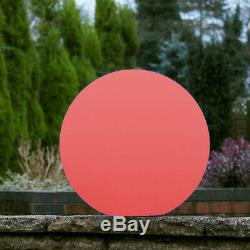 40cm Mood Glow Boule Lampe Lumière Extérieure Étanche Orb Globe Led Par Pk Vert