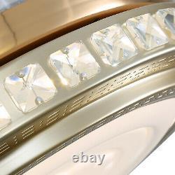 42 Dimmable Light Chandelier 4 Lames Invisibles Ventilateur De Plafond Avec Télécommande