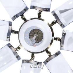 42 Rétractable Moderne Ventilateur Au Plafond Avec La Lumière Dimmable 3 Led Couleur Lustre