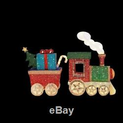 48. Mesh Cordes Ensemble De Train Décoration De Noël Avec 200 Led Blanc Chaud Lumières