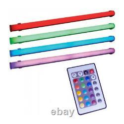 4x American Dj Adj Color Tube Led II Sensory Room Color Changing Light Dj Party