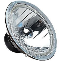 5-3 / 4 Bluetooth Téléphone Portable Rgb Smd Changement De Couleur Led Halo Angel Eye Set Phares