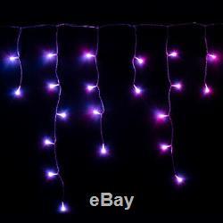 5m Twinkly Gen II Intelligente App Contrôlée Noël Icicle Led Lights