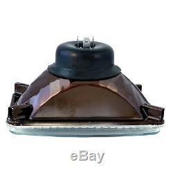 7x6 Changement De Couleur Rgb Led Smd Halo Angel Eye-phares Hid 6000k Ampoule Paire