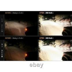 7x6 Changement De Couleur Rgb Smd Led Halo Angel Eye Headlight 6000k Hid Light Bulb Paire