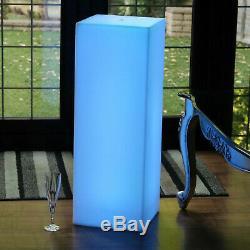 80cm Grand Moderne À Led Sans Fil Lampadaire Dimmable Rgb Éclairage D'ambiance Par Pk Vert