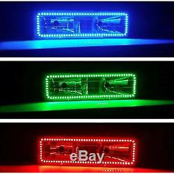 88-98 Chevy Gmc Camion Changement Multicolore Changement De Led Rgb Phare Anneau Halo Ensemble