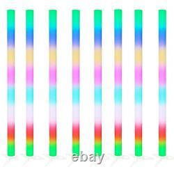 8 X Equinox Pulse Tube Led Rainbow Couleur Changer Dj Disco Parti Effet De Lumière