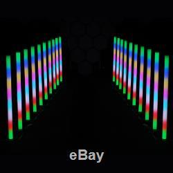 8x Equinox Pulse Tube Batterie Au Lithium Changement De Couleur Led Sensorielle Salle Lumière