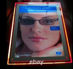 A2 Smart Led Illumination Couleur Changement De Cadre De Cristal Rgb, Panneaux D'affichage