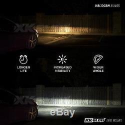 Ampoules De Phares À Del À Double Fonction 9004 + Application De Changement De Couleur Pour Téléphone Intelligent Demon Eye
