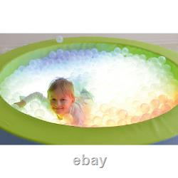 Baby Kids Ball Pit Ball Pool With Balls Led Colour Changing Soft Play Toy New