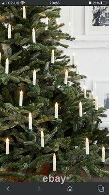 Balsam Hill, Bougies D'arbre De Noël À Changement De Couleur, Ensemble De 20 Ornements