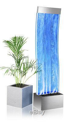 Bélier Courbe Bulle Mur D'eau Couleur Intérieure Changement Fonction Autoportant 150cm