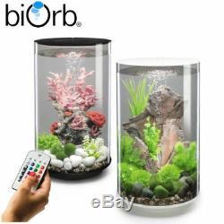 Biorb Tube 15 30 Mcr Led Changement De Couleur Clair Et Blanc Aquarium