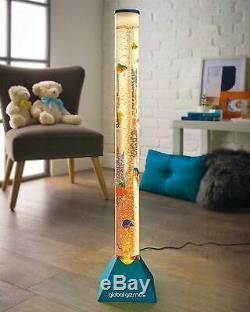 Bleu Grand 90cm Changement De Couleur Led Aquarium Sensorielle De Poissons D'eau Tube Bubble Lampe