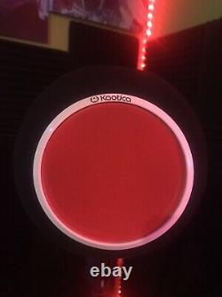 Bouclier Personnalisé De MIC De Boule D'oeil De Kaotica / Intégré Dans La Lumière Led Changeante De Couleur (red)