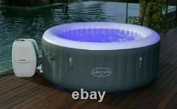 Brand New Lay-z-spa Bali 2-4 Personnes Led Hot Tub 2021 Modelnext Jour Livraison