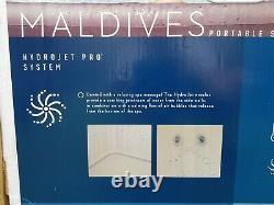 Brand New Lay-z-spa Maldives Hydrojet Pro 5-7 Personnes Leds Sièges Top Spec
