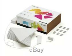Brand New Nanoleaf Panneaux Lumineux 9 Panneaux Smarter Kit Éclairage D'apple En Boîte