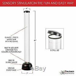 Bubble Led Sensorielle Tube Faux Fishtank Lampadaire 3.3 Ft Par Playlearn USA
