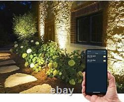 Changement De Couleur D'éclairage Bluetooth App Paysage 24 Volts 48 Watts. Ensemble De 2