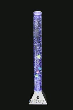 Changement De Couleur De La Lampe Sensorielle D'aquarium De Plancher De Tube D'eau De Poisson De Bulle Sensorielle