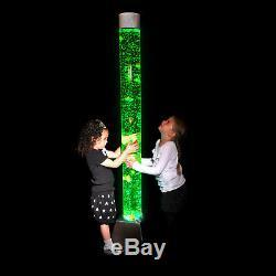 Changement De Couleur Du Tube À Bulles Sensoriel Géant 180cm, Led, Lumière D'ambiance, Moderne, Sensoriel