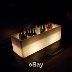 Changement De Couleur Led 120 CM X 40 CM X 40 CM Ice Box Trough Champagne, Vin Ou Bière