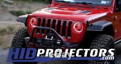 Changement De Couleur Rvb Hd Led Halos Pour 2018 2019 2020 Jeep Wrangler Jl Gladiator