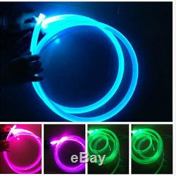 Choisissez 3 MM 3-100m Voiture Accueil Éclairage Led Décoration Côté Glow Câble À Fibre Optique