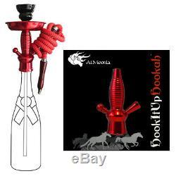 Ciroc Vodka Redberry 1l Bouteille Hookah Avec 16 Changement De Couleur Led De Stand Avec Télécommande