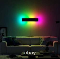 Couleur Moderne Rgb Minimaliste Led Wall Lamp Mood Éclairage Rgb Lumière Murale