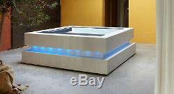 Cube Bain À Remous, Un Spa De Luxe, Korion Entoure, Wifi, Bluetooth, Un Système De Led