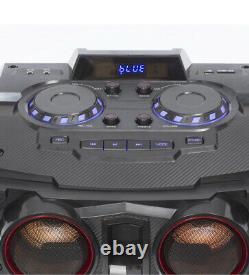 Daewoo 400w Bluetooth Subwoofer Couleur De La Partie Changer Les Lumières Led Haut-parleur