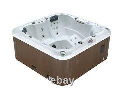Demo Cambridge 5-person Hot Tub Spa 34 Jet Aromatherapy Led Bluetooth Waterfall
