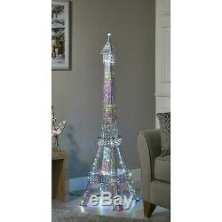 Étourdissement Tour Eiffel Lampadaire 120 Changement De Couleur Led