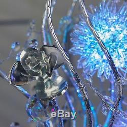 Fleur Chrome Changeant De Couleur Led Lampadaire Moderne Comtemporary