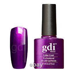Gdi Fine Glitter/shimmer Gamme R31 Purple Obsession Uv/led Nail Polonais