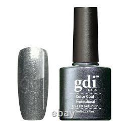 Gdi Fine Glitter/shimmer Range R19 Eternal Storm Uv/led Gel Vernis À Ongles